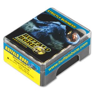 Buffalo Bore Penetrator 9mm Luger +P+ Ammunition 20 Rounds FMJ-FN 124 Grains 24F/20