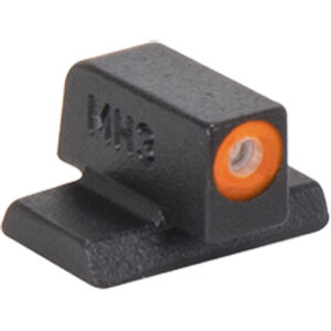 Meprolight Hyper-Bright Tritium Front Day and Night Sight Orange Ring for Smith & Wesson M&P Pistols