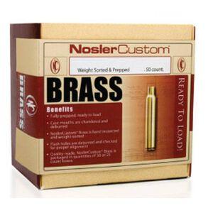 Nosler 6.5mm Creedmoor Unprimed Brass 50 Count 44824