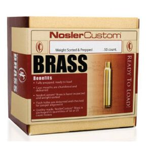Nosler 7mm Remington Magnum Unprimed Brass 50 Count 10185