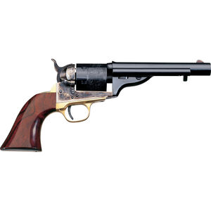 "Taylor's & Co 1872 Open Top Navy Revolver 45 LC 5.5"" Barrel 6 Rounds Walnut Grip Blued"