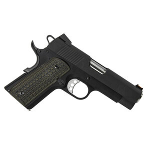 Pachmayr G10 Tactical Grips 1911 Officer Grappler Green/Black 61150