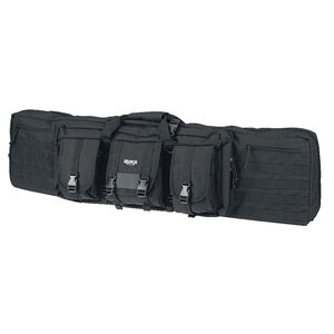 """American Tactical Imports RUKX Gear 42"""" Tactical Double Gun Case 600D Polyester Black"""