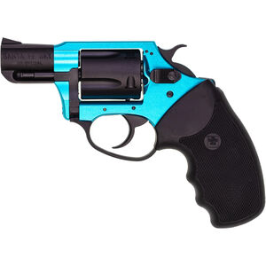 "Charter Arms Undercover Lite .38 Special +P Revolver 2"" Barrel 5 Rounds Aluminum Frame Rubber Grip Two Tone Turquoise/Black Finish"