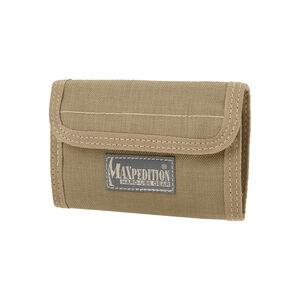 "Maxpedition Spartan Wallet 5.5""x0.5""x3.75"" 1000 Denier Khaki"