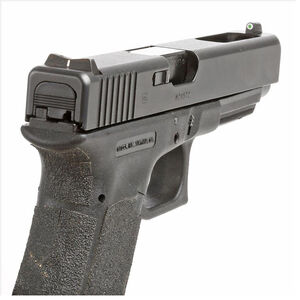 XS Sight Systems DXW Standard Dot Night Sights GLOCK 17/19/22/23 Green Tritium Front/Solid White Rear Matte Black