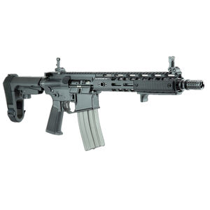 "Griffin Armament MK1 CQB 5.56 AR-15 Semi Auto Pistol 11.5"" Barrel 30 Rounds with SBA3 Pistol Brace Black"