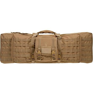 "Safariland Dual Rifle Soft Case 46"" Ballistic Pack Cloth Flat Dark Earth"