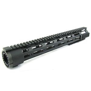 "TacFire AR-15 Free Float Handguard Detachable Rails 15"" Aluminum Black HG03-15"