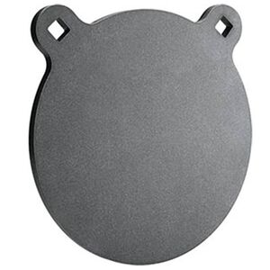 "Champion Center Mass AR500 Steel Targets 1/4"" AR500 Steel Pistol Rated 8"" Round Gong Target Matte Black"