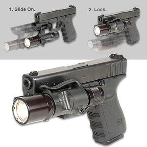 "Safariland Rail Light System Mounting Unit Picatinny-style Mount Hold any 1"" Diameter Flashlight"