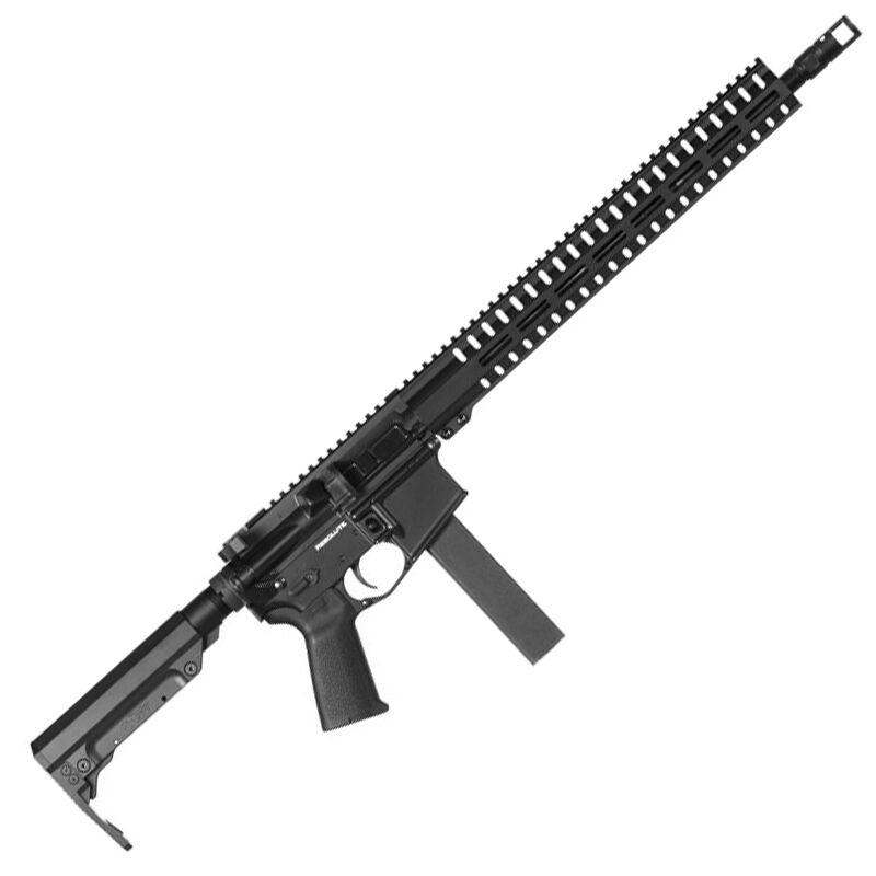 "CMMG Resolute 300 Mk9 Series 9mm Luger AR15 Style Semi Auto Rifle 16"" Barrel 32 Rounds CMMG RML15 M-LOK Hand Guard Cerakote Graphite Black"