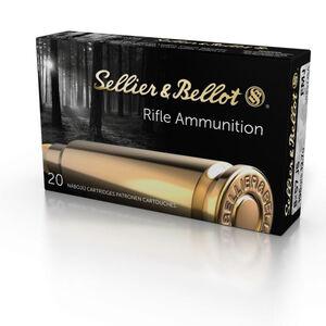Sellier & Bellot 8x57mm JS Mauser Ammunition 20 Rounds FMJ 196 Grains SB857JSA