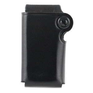 Galco SMC GLOCK 20/21 XD 45 and most Double Stack .45 ACP and 10mm Magazines Single Magazine Case Belt Snap Loop Leather Black