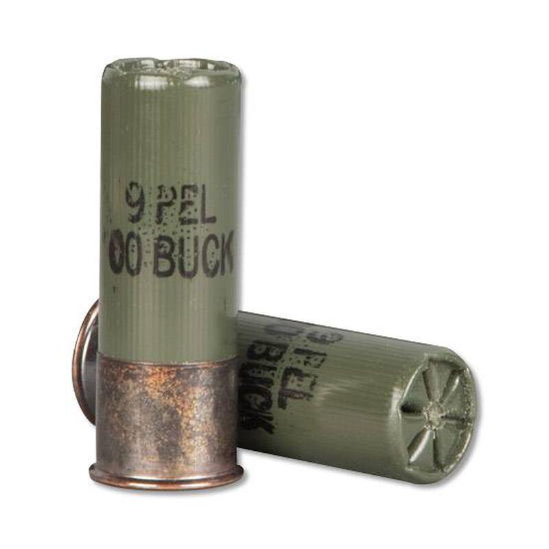 "Winchester Military Grade12 Gauge Shot Shells 2 3/4"" 00 Buckshot 9 Pellet"