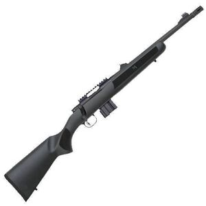 "Mossberg MVP Patrol Bolt Action Rifle .223 Rem/5.56mm NATO 16.25"" Medium Bull Barrel Threaded With Flash Suppressor 10 Rounds Adjustable Sights Textured Stock Black 27716"