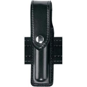 "Safariland 308 Hand-Held Flashlight Holder Fits Surefire 6P 2.25"" Belt Loop Black Snap Hardshell STX Tactical Black"