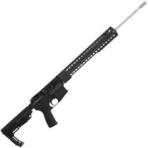 "Radical Firearms AR-15 Semi Auto Rifle 6.5 Grendel 10 Rounds 20"" Stainless Steel Barrel 15"" Free Float MHR Handguard MFT Minimalist Collapsible Black"