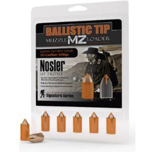 "Nosler .50 Caliber .458"" Diameter 300 Grain Ballistic Tip Muzzleloader Bullet 15 Count 50300"