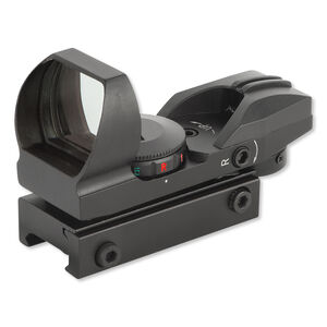 DMA Holographic Dot Sight Multiple Reticles Red and Green Illumination Matte Black XTS-HD-38
