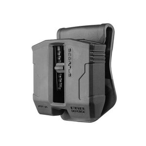 FAB Defense PS-9S Swivel Double Mag Pouch For Steel 9mm/.40 S&W Magazines Black