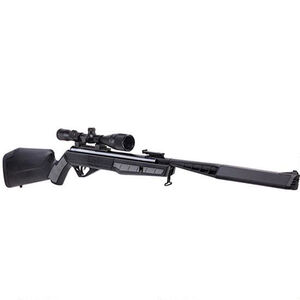Benjamin Sheridan Mayhem Nitro Piston 2 Powered Break Barrel Air Rifle .22 Caliber 1100 fps with 3-9x40mm Scope Synthetic Stock Black