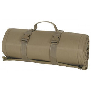 "Voodoo Tactical Advanced Padded Shooting Mat, Size 72"" x 48"" Rolls Up To 10"" x 20"" Coyote Tan"