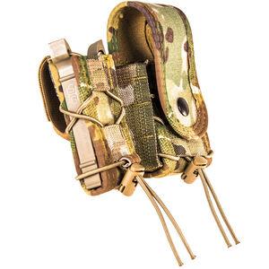 High Speed Gear LEO TACO Pistol/Handcuff Pouch w/Cover Belt Mount MultiCam