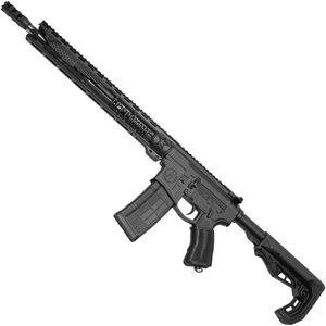 "Unique-ARs Freedom-15s 5.56 NATO AR-15 Semi Auto Rifle 16"" Barrel 30 Rounds .223 Wylde Chamber Slim M-LOK Compatible Handguard Collapsible Stock Black"