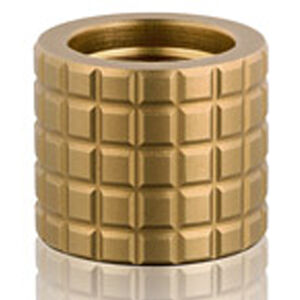Backup Tactical AR-15 Frag Thread Protector 1/2-28 TPI Aluminum Dark Earth FRAG-FDE223