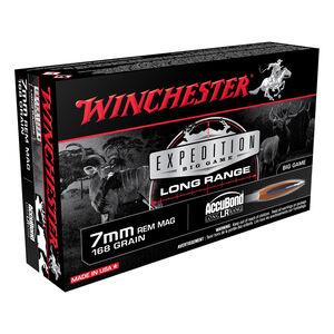 Winchester 7mm Remington Magnum Ammunition 200 Rounds Accubond 168 Grains