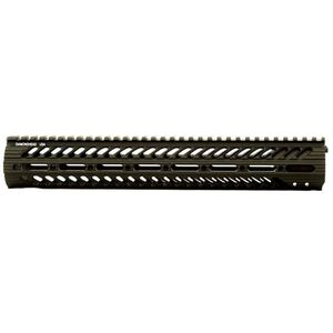 "Diamondhead VRS X Free Float Handguard 13.5"" Picatinny Rail Aluminum Black"