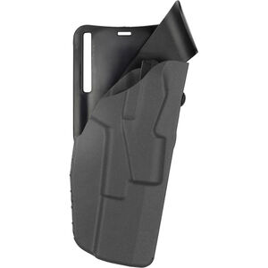 Safariland 7395 7TS ALS Duty Belt Holster Fits GLOCK 17/22 with TLR-1 or Similar Weapon Lights Right Hand LVL I Low-Ride SafariSeven Plain Black