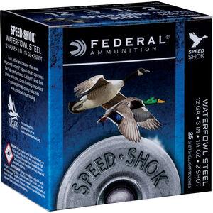 "Federal Speed-Shok 12 Ga 3.5"" BBB Steel 1.375oz 250 rds"