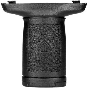Trinity Force AR-15 Slim Vert Grip Keymod Vertical Forward Grip with Storage Polymer Black