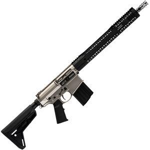 "Black Rain BRO Urban AR-308 Semi Auto Rifle .308 Win 18"" Fluted Barrel 20 Rounds M-LOK Hybrid Handguard MOE SL Stock Black/Norguard Finish"