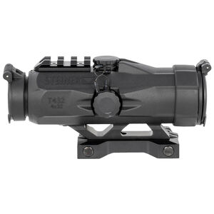Steiner Optics T432 Fixed Power Riflescope 4x Magnification 32mm Objective Rapid Dot Calibrated 7.62 NATO Reticle Picatinny Compatible Mount Black