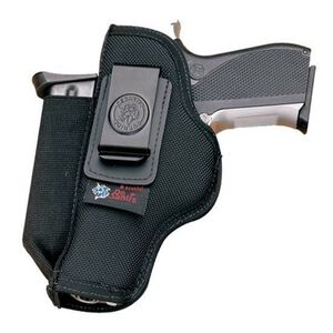 DeSantis N87 Bersa Thunder .380, Colt Pony, Walther PPK Pro Stealth Inside the Pant Ambidextrous Nylon Mag Pouch Black
