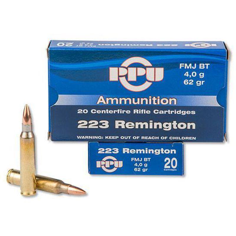 Prvi Partizan .223 Remington Ammunition 20 Rounds FMJBT 62 Grains PP5.5