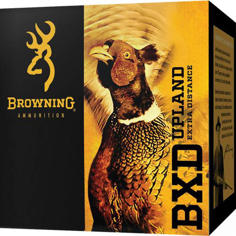 """Browning BXD Upland Extra Distance 16 Gauge Ammunition 2-3/4"""" #6 Nickel Plated Lead 1-1/8 Ounce 1295 fps"""