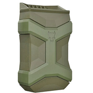 Pitbull Tactical Universal Mag Carrier Gen 2 Single Magazine Pouch Fits 9/40/45 Single or Double Stack Magazines OD Green