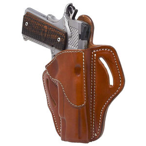 1791 Gunleather Open Top Multi-Fit OWB Belt Holster for Full Size 1911 Semi Auto Models Right Hand Draw Leather Classic Brown