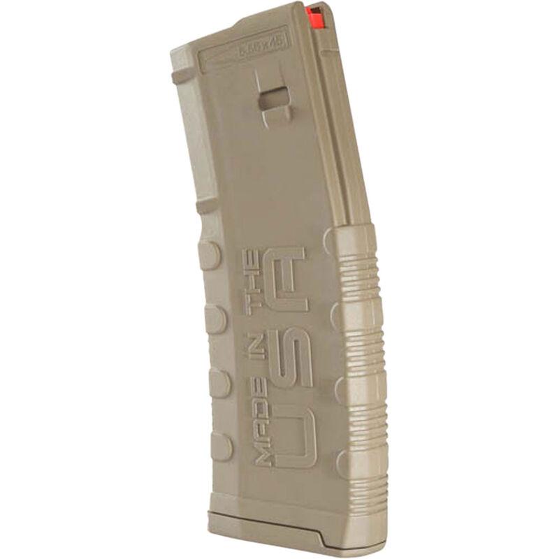 Amend2 Mod-2 AR-15 30 Round Magazine .223 Remington/5.56 NATO Anti-tilt Super Follower Stainless Steel Spring Polymer Flat Dark Earth