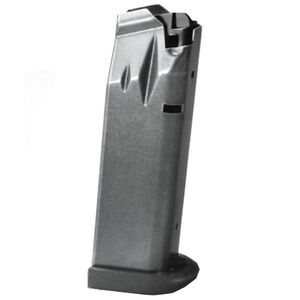 Remington RP9 18 Round Magazine 9mm Luger Steel Polymer Base Plate Matte Black