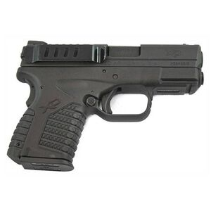 Techna Clips Springfield XD(M) Retention Belt Clip Right Hand Steel Black XDMBR