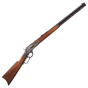 "Cimarron Firearms 1873 Sporting Lever Action Rifle .45 Long Colt 24"" Barrel 12 Rounds Walnut Stock Blued Finish CA282"