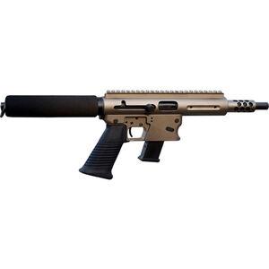 """TNW Aero Survival Semi Auto Pistol 10mm Auto 8"""" Quick Change Barrel 10 Rounds GLOCK Style Mag Aluminum Dark Earth"""