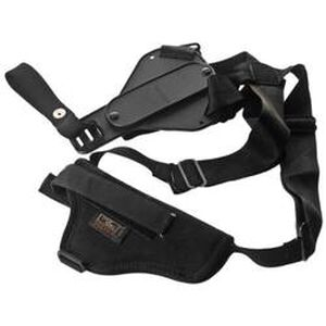 Uncle Mike's Sidekick Vertical Shoulder Holster Small/Medium Revolvers Nylon Black 83001
