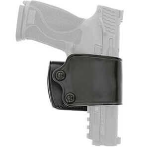 DeSantis Yaqui Slide Belt Holster Large/Medium Autos Right Hand Leather Black