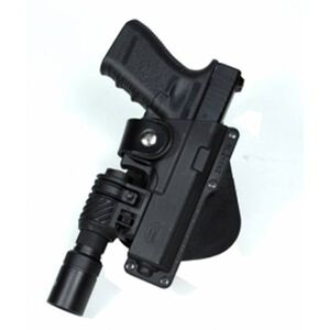 Fobus Tactical Holster Glock 19, 23, 32/Taurus PT940 Left Hand Polymer Body Roto Paddle Attachment Black